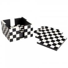Cyan Designs 08005 - Check Mate Coasters