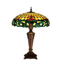 "Meyda Tiffany 15707 - 25""H Duffner & Kimberly Colonial Table Lamp"