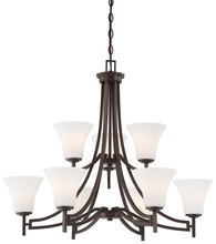 Minka-Lavery 4939-284 - 9 Light Chandelier