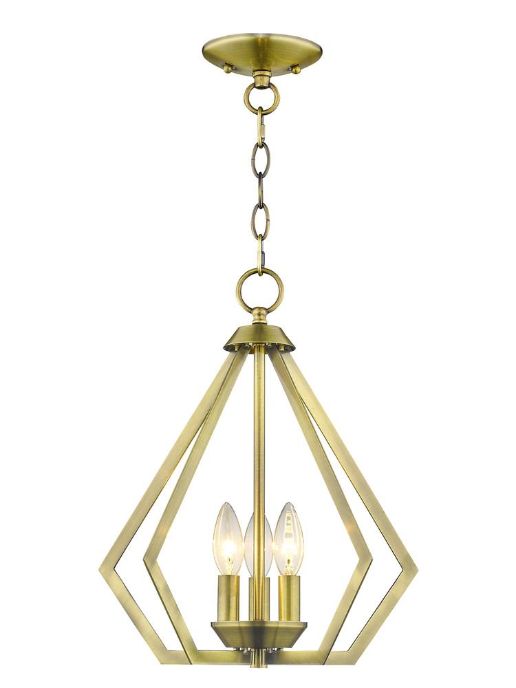 3 Light Ab Mini Chandelier Ceiling Mount 1q6l9 Efirds