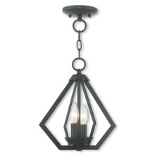 Livex Lighting 40922-07 - 2 Light BZ Mini Chandelier/Ceiling Mount