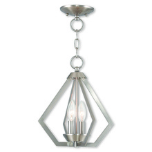 Livex Lighting 40922-91 - 2 Light BN Mini Chandelier/Ceiling Mount