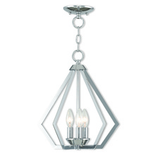 Livex Lighting 40923-05 - 3 Light CH Mini Chandelier/Ceiling Mount