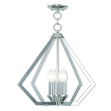 Livex Lighting 40925-05 - 5 Light Polished Chrome Chandelier