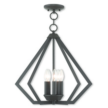 Livex Lighting 40925-07 - 5 Light Bronze Chandelier