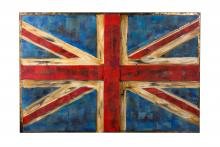 Varaluz 4DWA0104 - UK Flag Wall Art