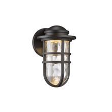 WAC US WS-W24509-BZ - STEAMPUNK 9IN IN/OUTDOOR SCONCE 3000K