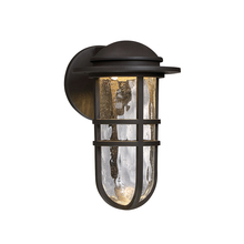 WAC US WS-W24513-BZ - STEAMPUNK 13IN IN/OUTDOOR SCONCE 3000K