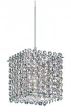 Schonbek MT0505A - Matrix 1 Light 110V Pendant in Stainless Steel with Clear Spectra Crystal