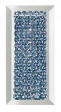 Schonbek MTW0510A - Matrix 1 Light 110V Wall Sconce in Stainless Steel with Clear Spectra Crystal