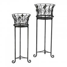 Cyan Designs 02781 - Filigree Iron Planters