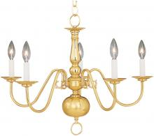 Maxim 7103SN - Builder Basics-Single-Tier Chandelier