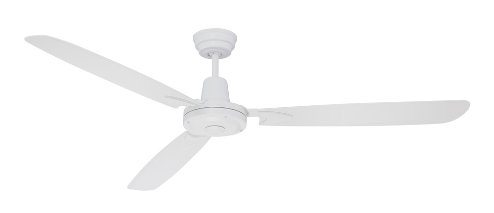 "Velocity 58"" Ceiling Fan with Blades in White"