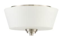 Craftmade 41982-BNK - Grace 2 Light Flushmount in Brushed Polished Nickel