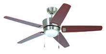 "Craftmade ATA52BNK5 - Atara 52"" Ceiling Fan with Blades and Light in Brushed Polished Nickel"