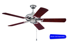 "Craftmade CI52BN - Civic 52"" Ceiling Fan in Brushed Satin Nickel (Blades Sold Separately)"