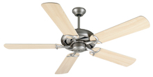 "Craftmade K10852 - Civic 52"" Ceiling Fan Kit in Brushed Satin Nickel"