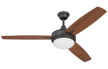 "Craftmade TG52ESP3 - Targas 52"" Ceiling Fan with Blades and LED Light Kit in Espresso"