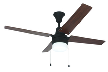 "Craftmade UBW48ABZ4C1 - Wakefield 48"" Ceiling Fan with Blades and Light in Aged Bronze Brushed"