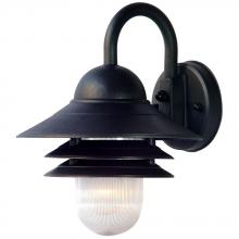 Acclaim Lighting 82BK - Mariner Collection Wall-Mount 1-Light Outdoor Matte Black Light Fixture