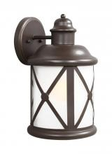 Sea Gull 8721451-71 - Large One Light Outdoor Wall Lantern