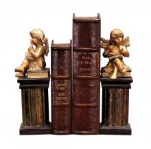 Sterling Industries 91-2221 - Pair Thinking Cherub Bookends