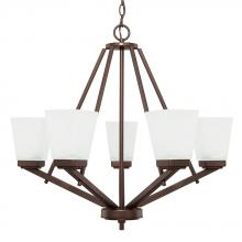 Capital 414451BZ-334 - 5 Light Chandelier