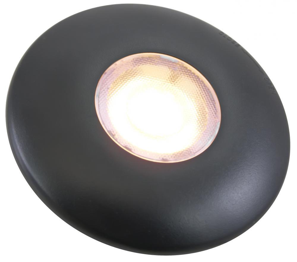 Futura led disc light 12 volts 3 watts 170 lumens black 7ukv futura led disc light 12 volts 3 watts 170 lumens black aloadofball Choice Image