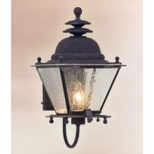 Troy BCD6031NR - One Light Natural Rust Wall Lantern