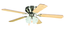 "Ellington Fan BRC52BNK5C - Brilliante with 4-light Kit 52"" Ceiling Fan with Blades and Light in Brushed Polished Nickel"