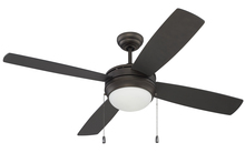 "Ellington Fan LAV52ESP4-NRG - Laval 52"" NRG Ceiling Fan with Blades and Light in Espresso"