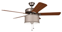 Ellington Fan LKE227KP - 2 Light Shade Fan Light Kit with Kohiba Pewter Silk