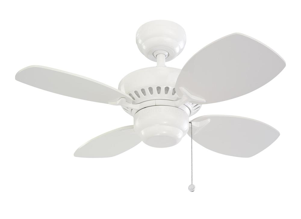 28' Colony II Fan - White