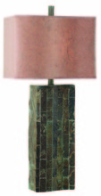 Kenroy Home 30894SL - Ripple Slate Table Lamp