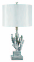 Kenroy Home 32166WH - Coral Table Lamp