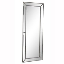 Elegant MR-3314 - Modern 80 in. Contemporary Mirror in Silver leaf