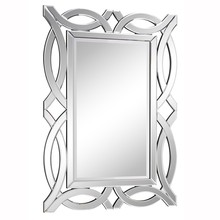 Elegant MR-3347 - Modern 28 in. Contemporary Mirror in Clear