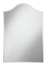 Elegant MR-4013 - Modern 28 in. Contemporary Mirror in Clear