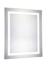 Elegant MRE-6003 - LED Hardwired Mirror Rectangle W24H30 Dimmable 5000K