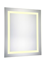 Elegant MRE-6013 - LED Hardwired Mirror Rectangle W24H30 Dimmable 3000K