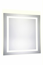 Elegant MRE-6030 - 4 Sides LED Hardwired Mirror Rectangle W36H36 Dimmable 5000K