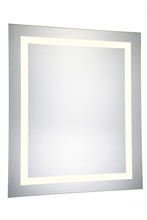 Elegant MRE-6041 - 4 Sides LED Hardwired Mirror Rectangle W32H40 Dimmable 3000K