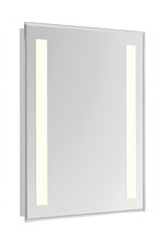 Elegant MRE-6314 - 2 Sides LED Hardwired Mirror Rectangle W24H40 Dimmable 3000K