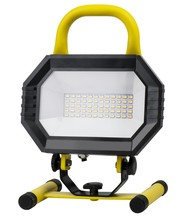 Elegant PWL5003Y - LED PORTABLE WORK LIGHT, 4000K, 100�, CRI80, UL, 30W, 220W EQUIVALENT, 35000HRS, LM2000, NON-DIMMABL