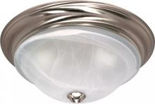 "Nuvo 60-588 - Triumph 3 Light 15"" Flush Fixture"
